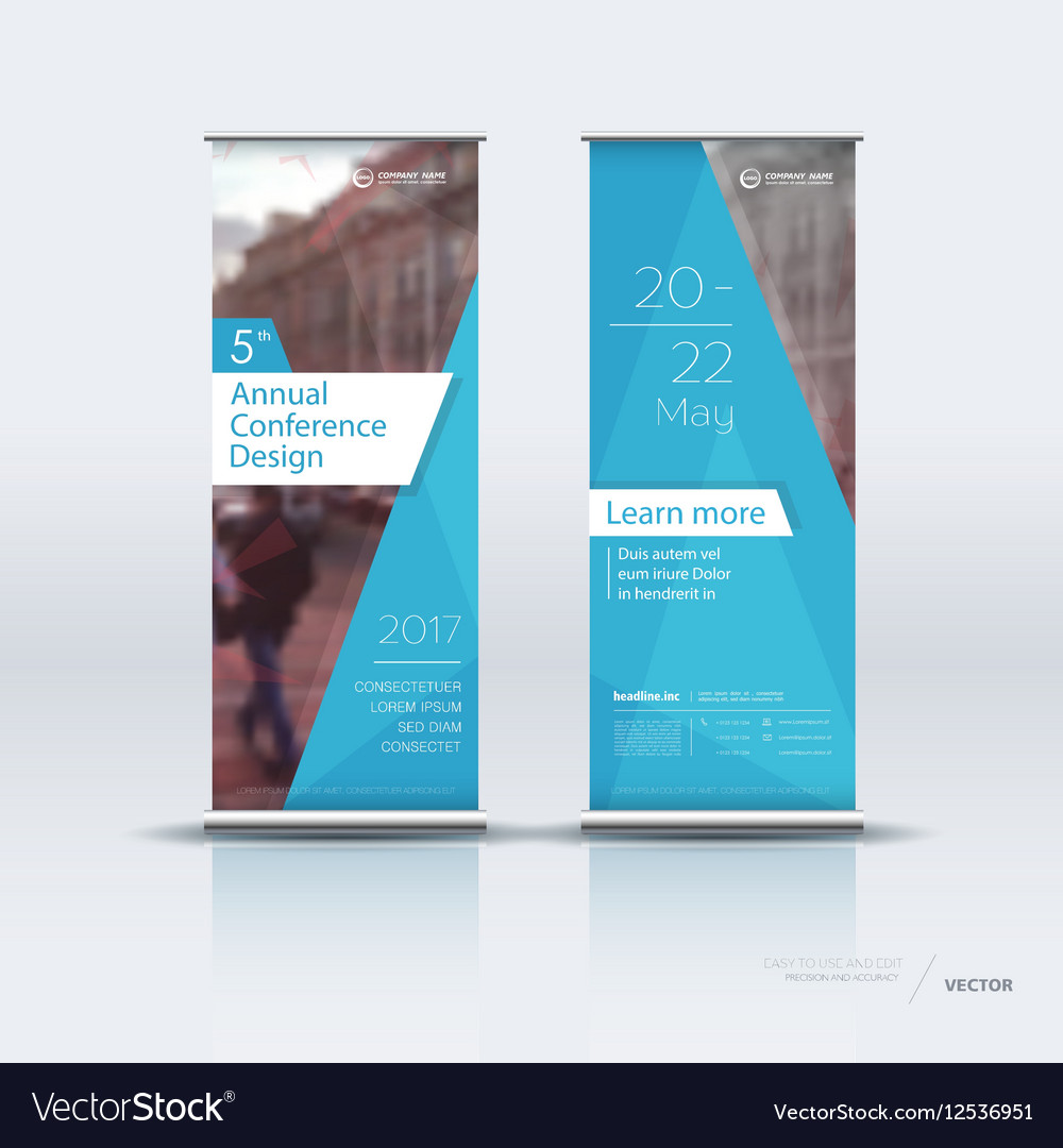vertical banners design