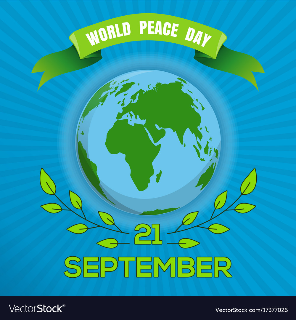 Poster Of The World World Peace Day Poster Design
