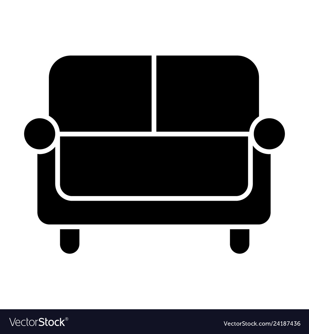 Sofa Vector Free Couch Solid Icon Sofa