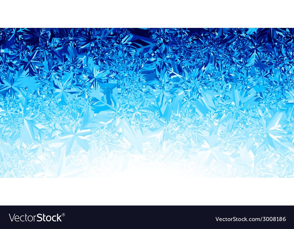 Ice background Royalty Free Vector Image - VectorStock