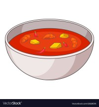 Tom yum thai soup icon cartoon style Royalty Free Vector