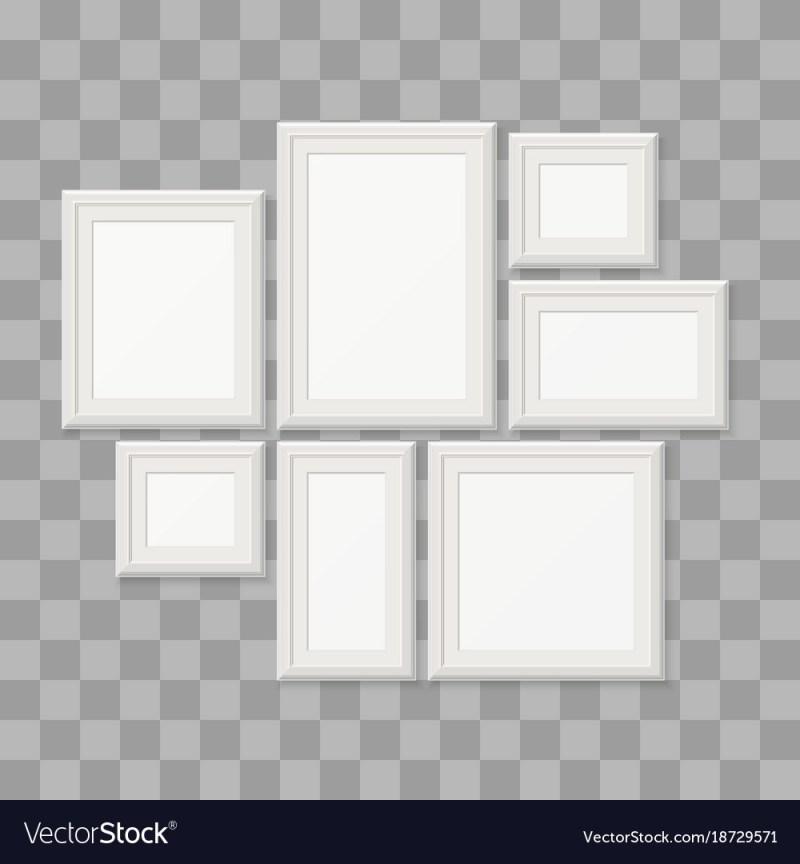 Corner Empty Frames 3d Photo Borders Vector 18729571 Frames 20x30 ...