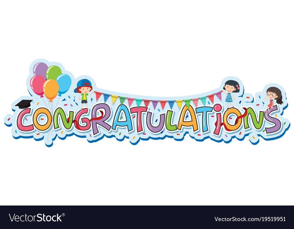 word congratulations - Canasbergdorfbib
