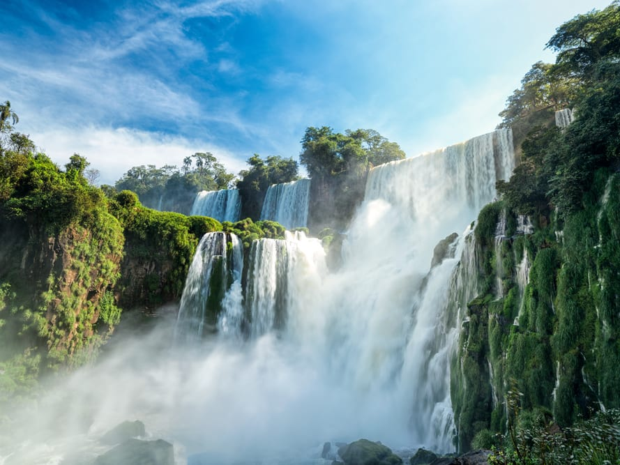 Iguazul Falls Wallpaper Iguazu Falls Argentina Side Sightseeing Tour From Puerto