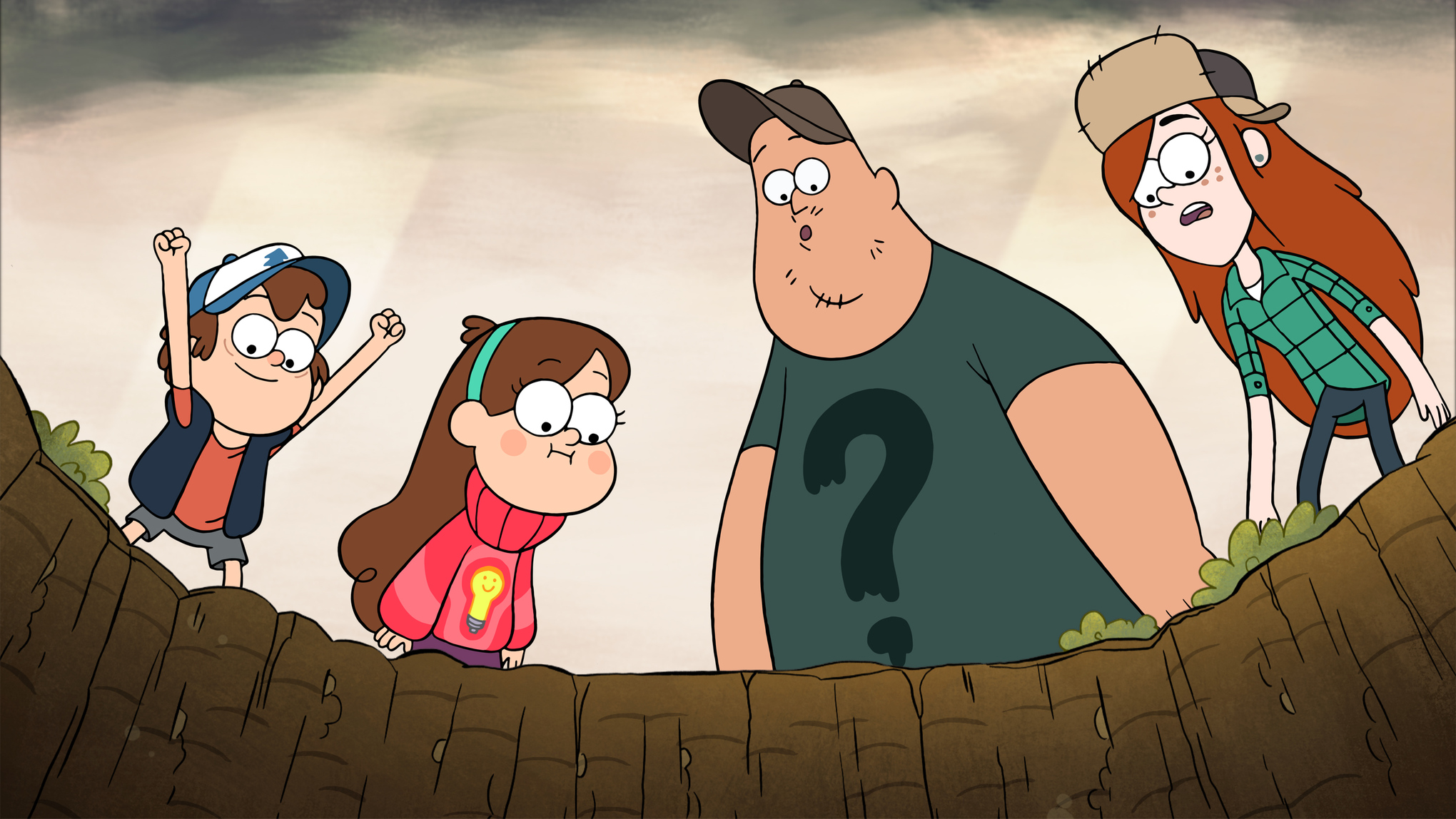 Gravity Falls Characters Wallpaper 2048x1152 Disney S Gravity Falls Is One Of The Best Kids Shows On Tv