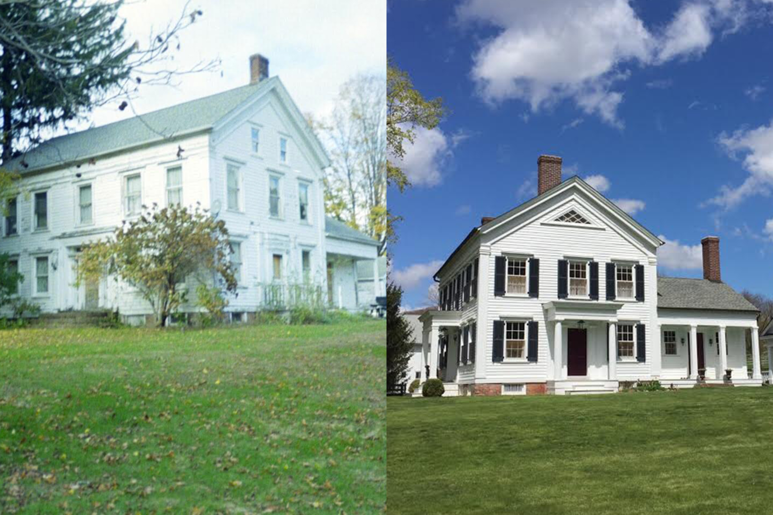 Renovated Farmhouse Before And After How To Renovate A Historic Homeand Live To Tell The Tale