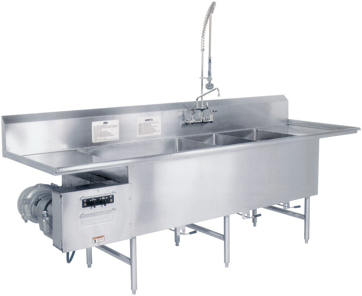Washer Pan Turbowash Ii Powered Sink Utensil Pot And Pan Washers
