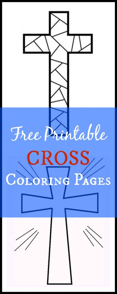 Free Printable Cross Coloring Pages - What Mommy Does