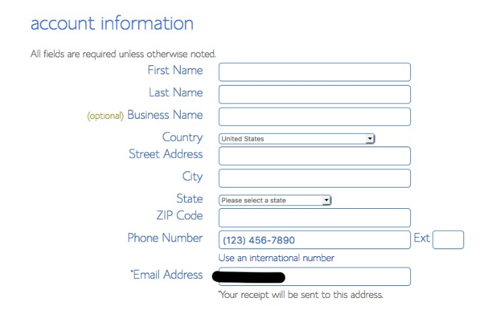 How to Start a New Self-Hosted Blog on Bluehost (a Step-by-Step - phone list template excel