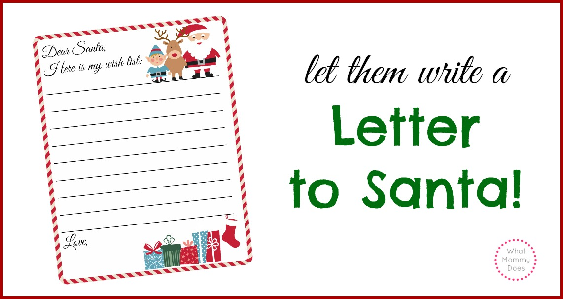 Printable santa wish list writing a letter to santa free template letter santa template template pronofoot35fo Gallery