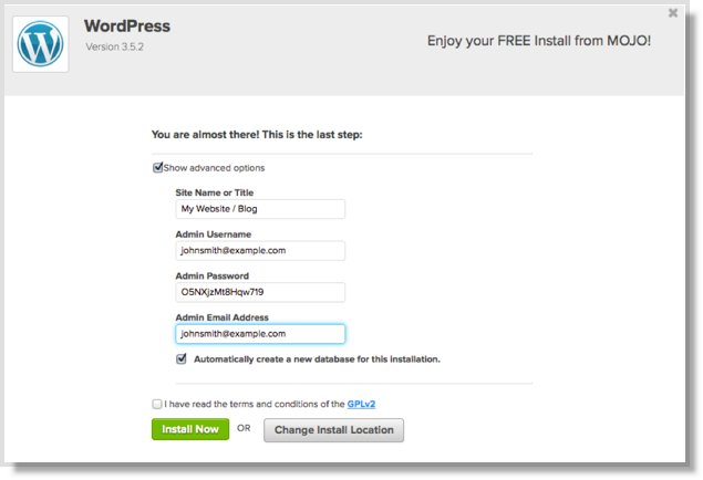How to Start a New Self-Hosted Blog on Bluehost (a Step-by-Step - address change template