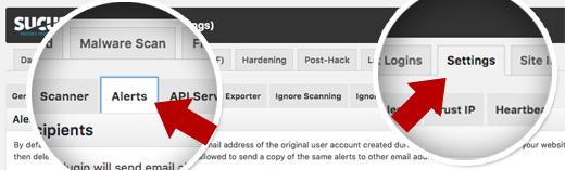 Sucuri Email Alerts