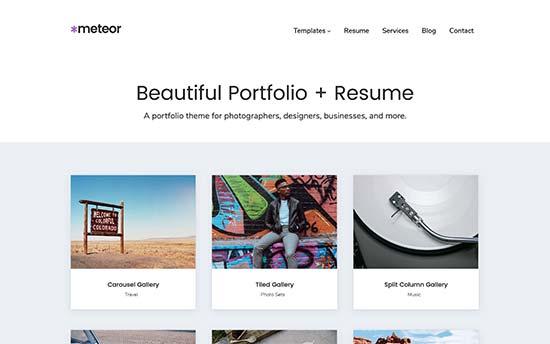 free resume templates websites