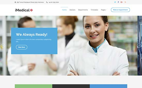 22 Best Medical and Health WordPress Themes (2018)