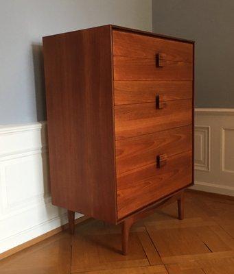 Mid-Century Danish Teak  Rosewood Chest of Drawers by Ib Kofod
