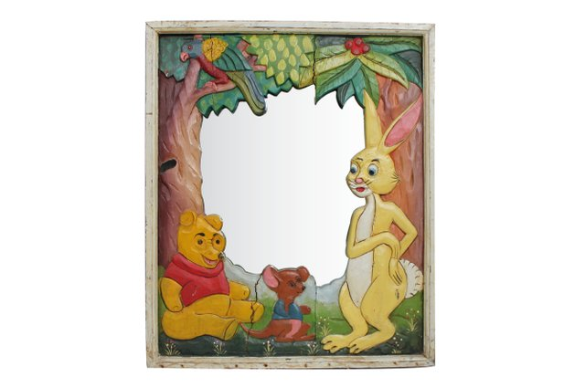 Vintage Winnie The Pooh Mirror For Sale At Pamono