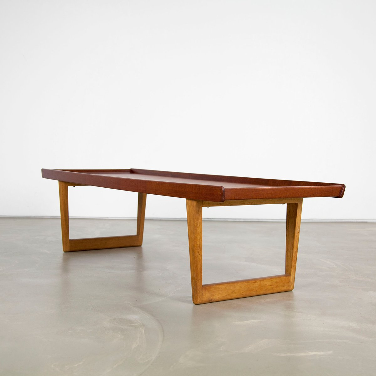 Couchtisch Marvel Vintage 5251 Teak And Oak Coffee Table By Børge Mogensen