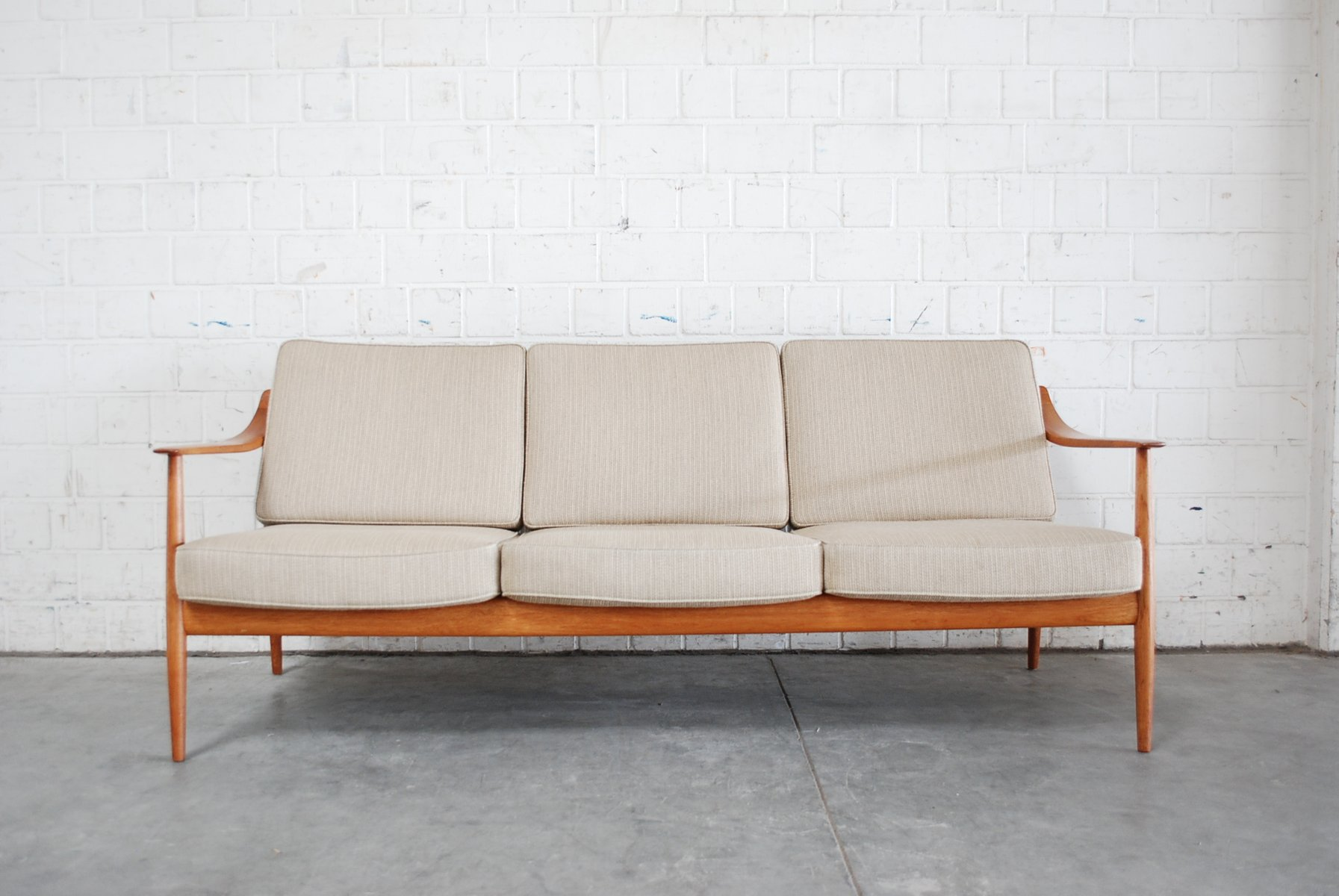Scandinavian Sofas For Sale Danish Teak Sofa By Knoll Antimott For Sale At Pamono