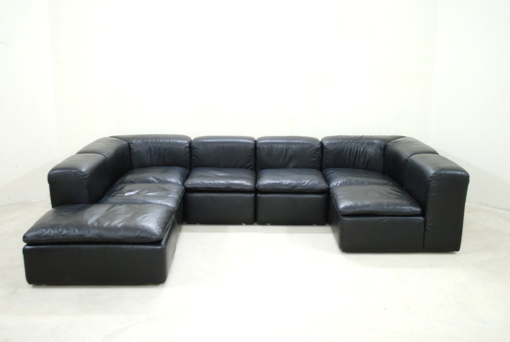 Cube Möbel Modular Black Cube Design Wk 550 Leather Sofa By Ernst Martin Dettinger For Wk Möbel