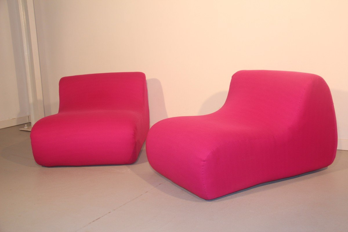 Lounge Sessel Italienische Lounge Sessel 1960er 2er Set