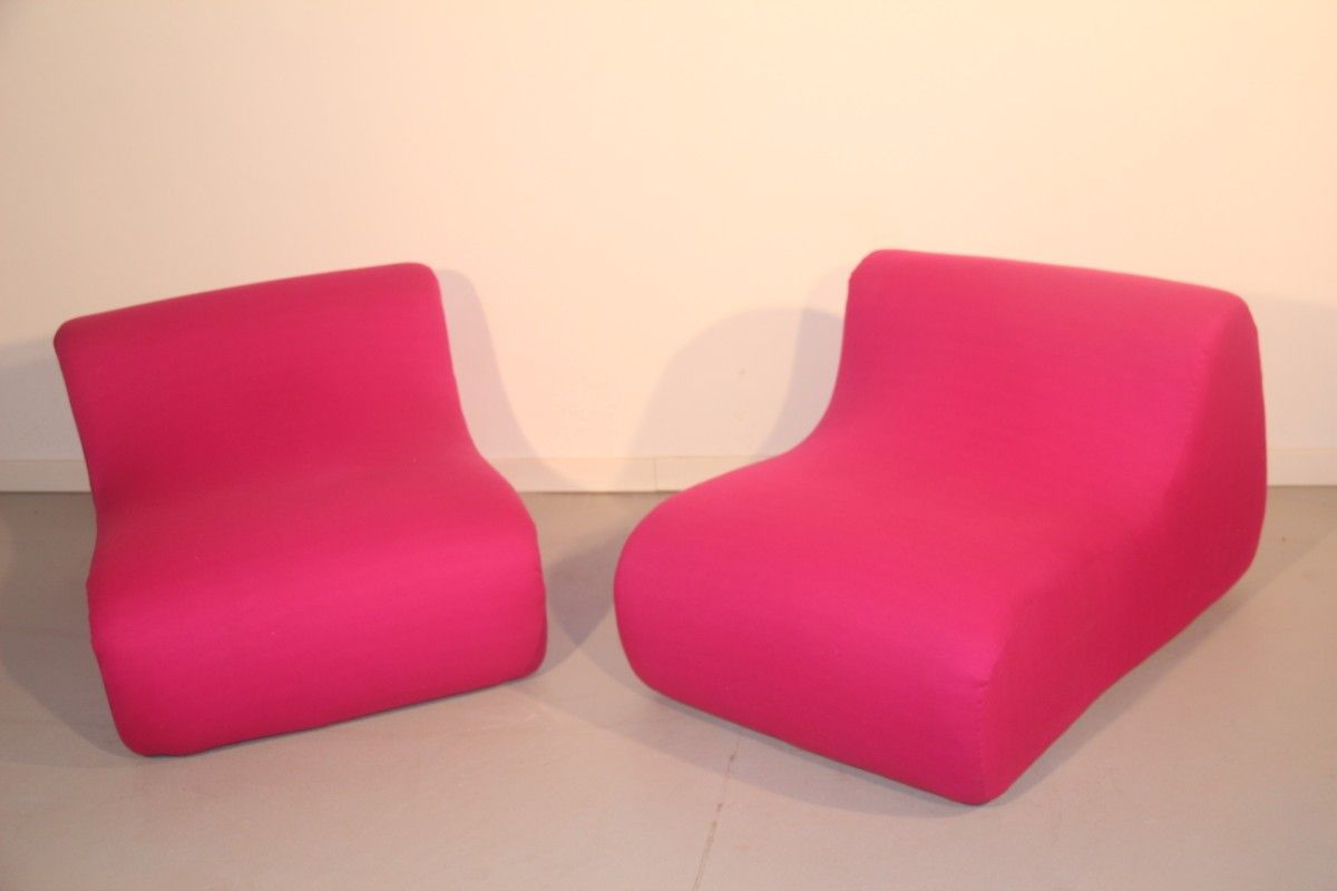 Lounge Sessel 2er Set Italienische Lounge Sessel 1960er 2er Set
