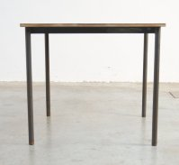 Square Industrial Coffee Table for sale at Pamono