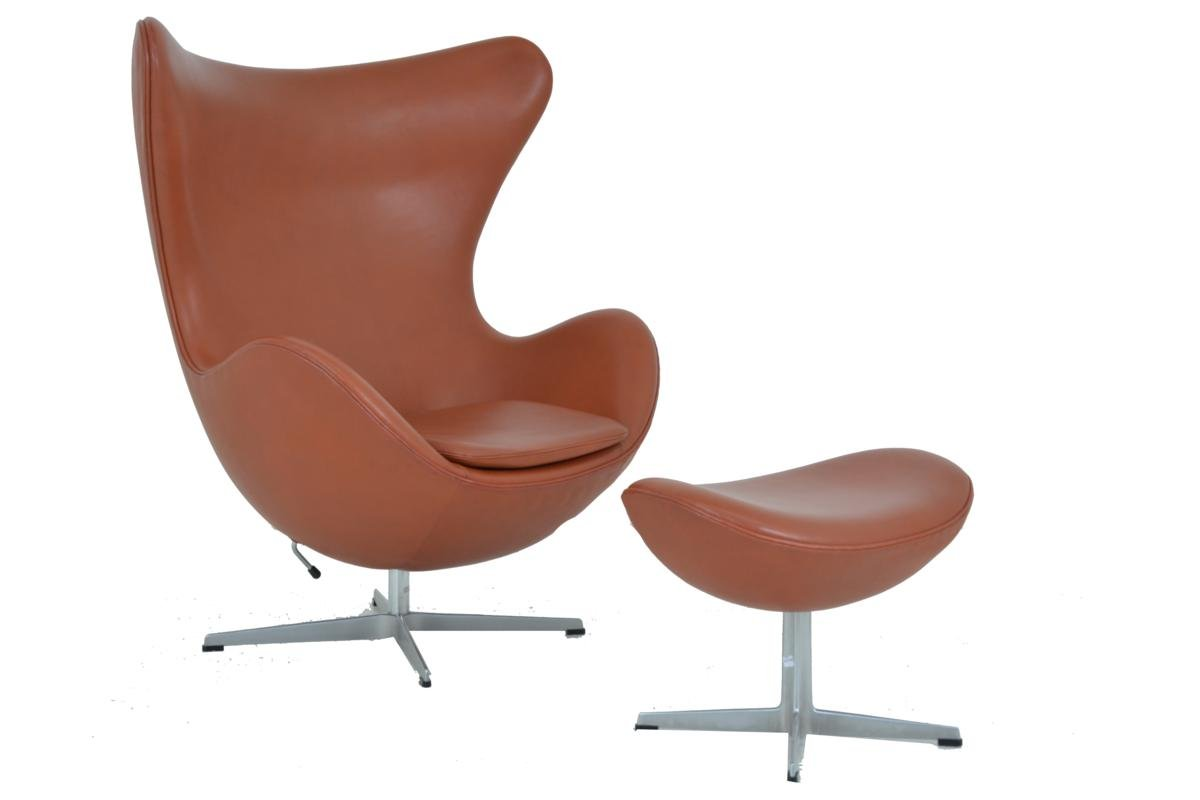 Buy Egg Chair Egg Chair And Footstool By Arne Jacobsen For Fritz Hansen