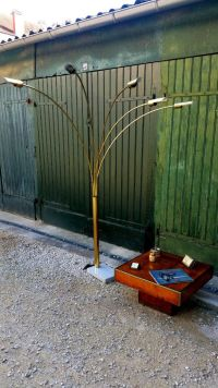 Italian Arc Floor Lamp with Five Arms, 1970s for sale at ...