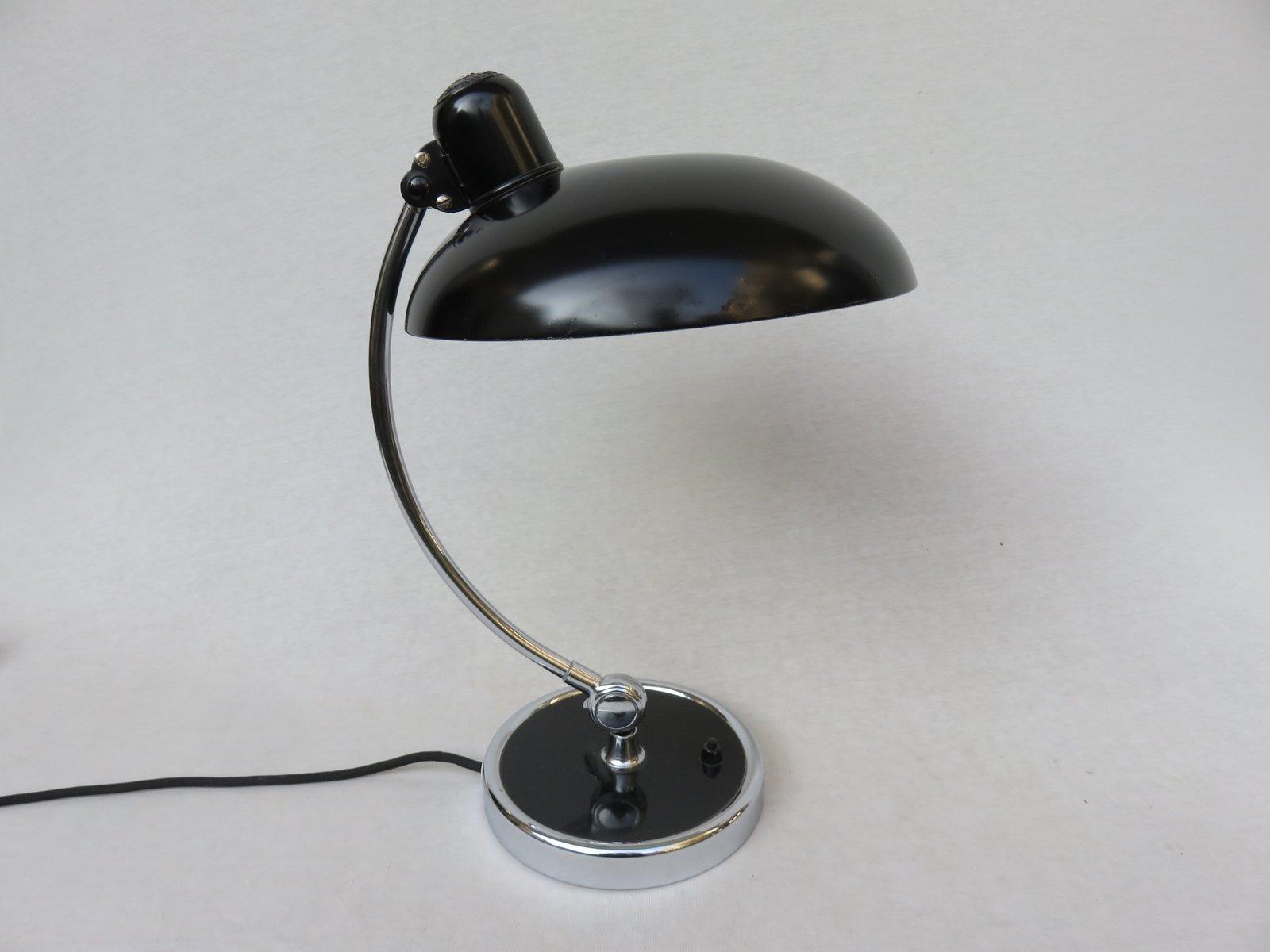 Lampe de bureau del lampe de bureau 6718 noire par christian dell