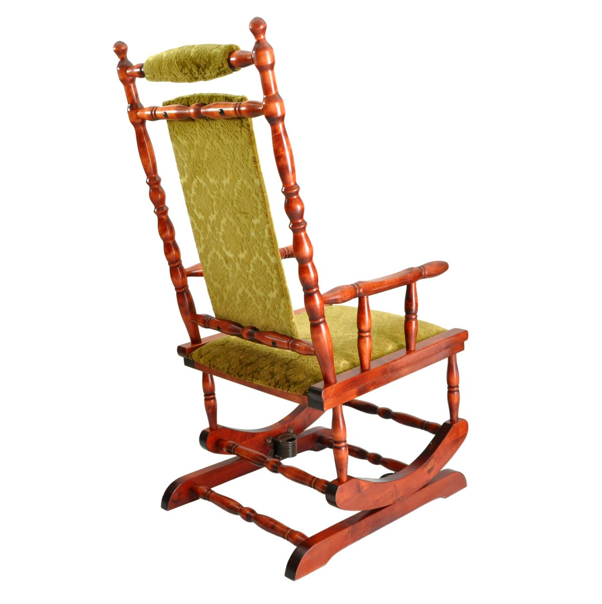 Swedish Rocking Chair Scandinavian Wooden Rocking Chair 1950s For Sale At Pamono