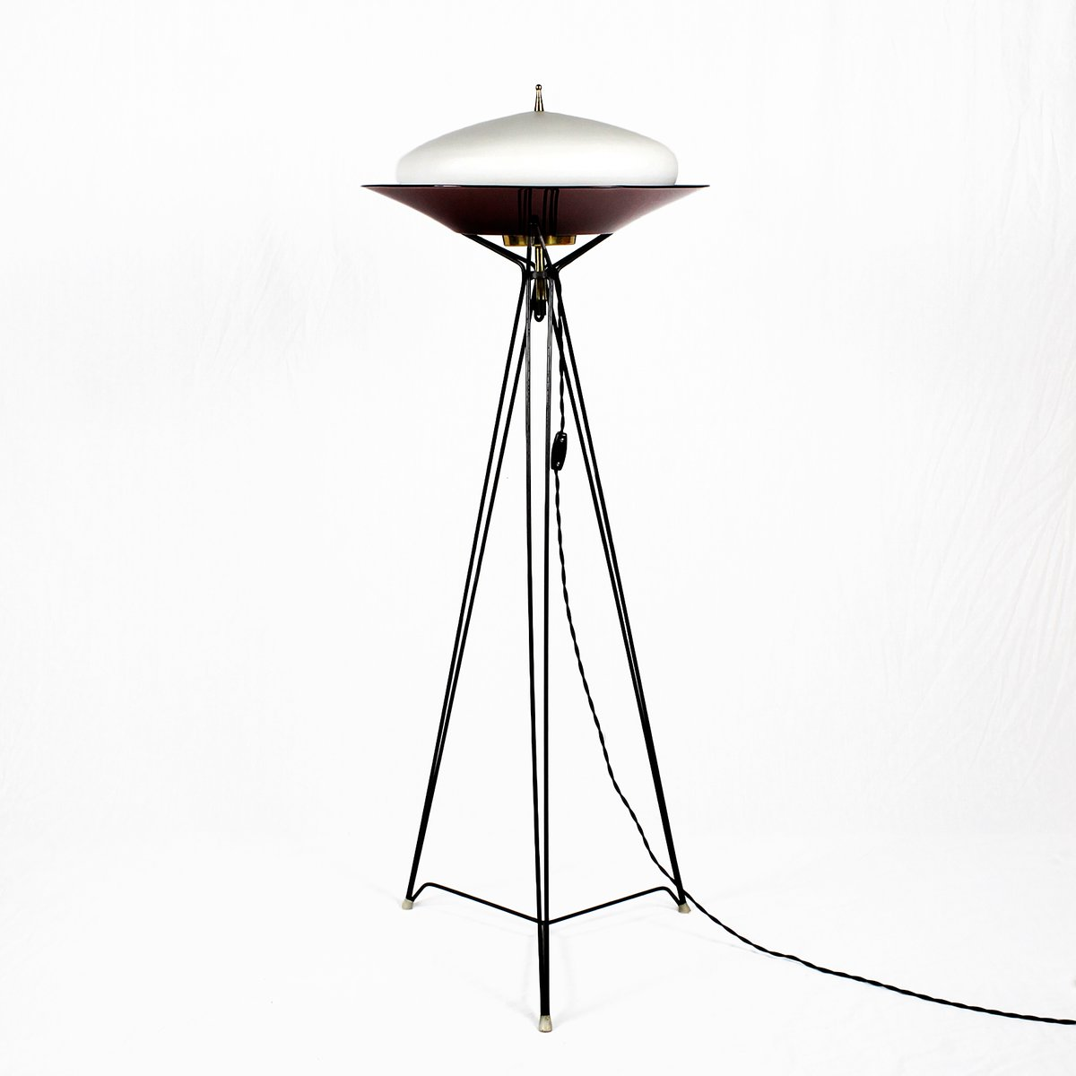 Tripod Floor Lamps Sale Italian Tripod Floor Lamp 1960s For Sale At Pamono