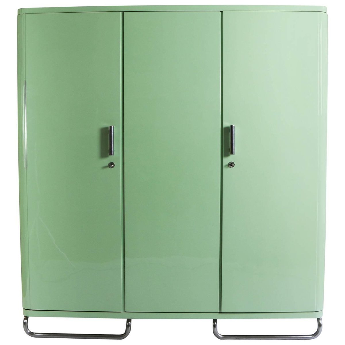 Industrial Wardrobes Industrial Pistachio Green Wardrobe For Sale At Pamono