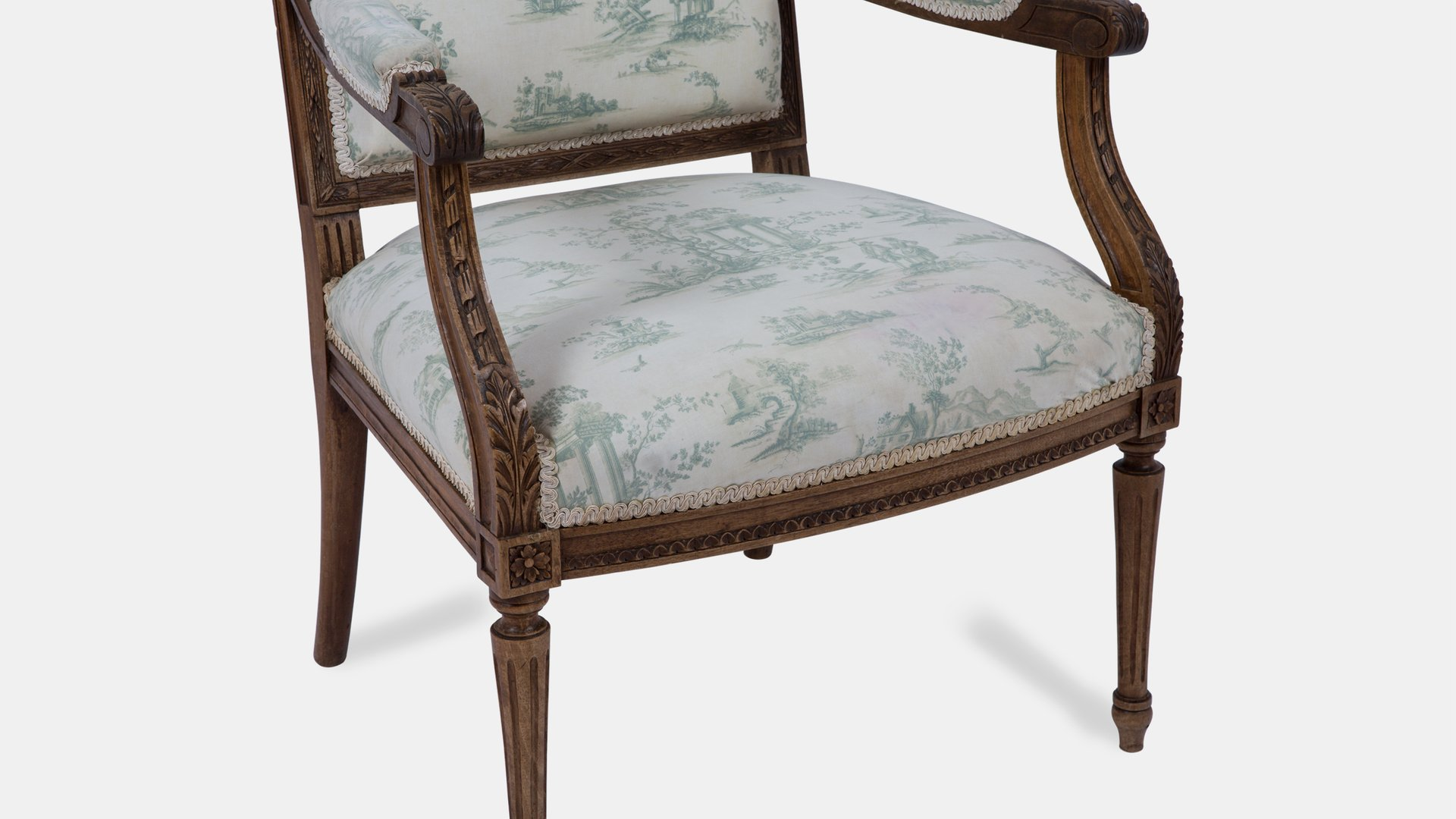 Toile Salon Antique French Toile Salon Suite For Sale At Pamono