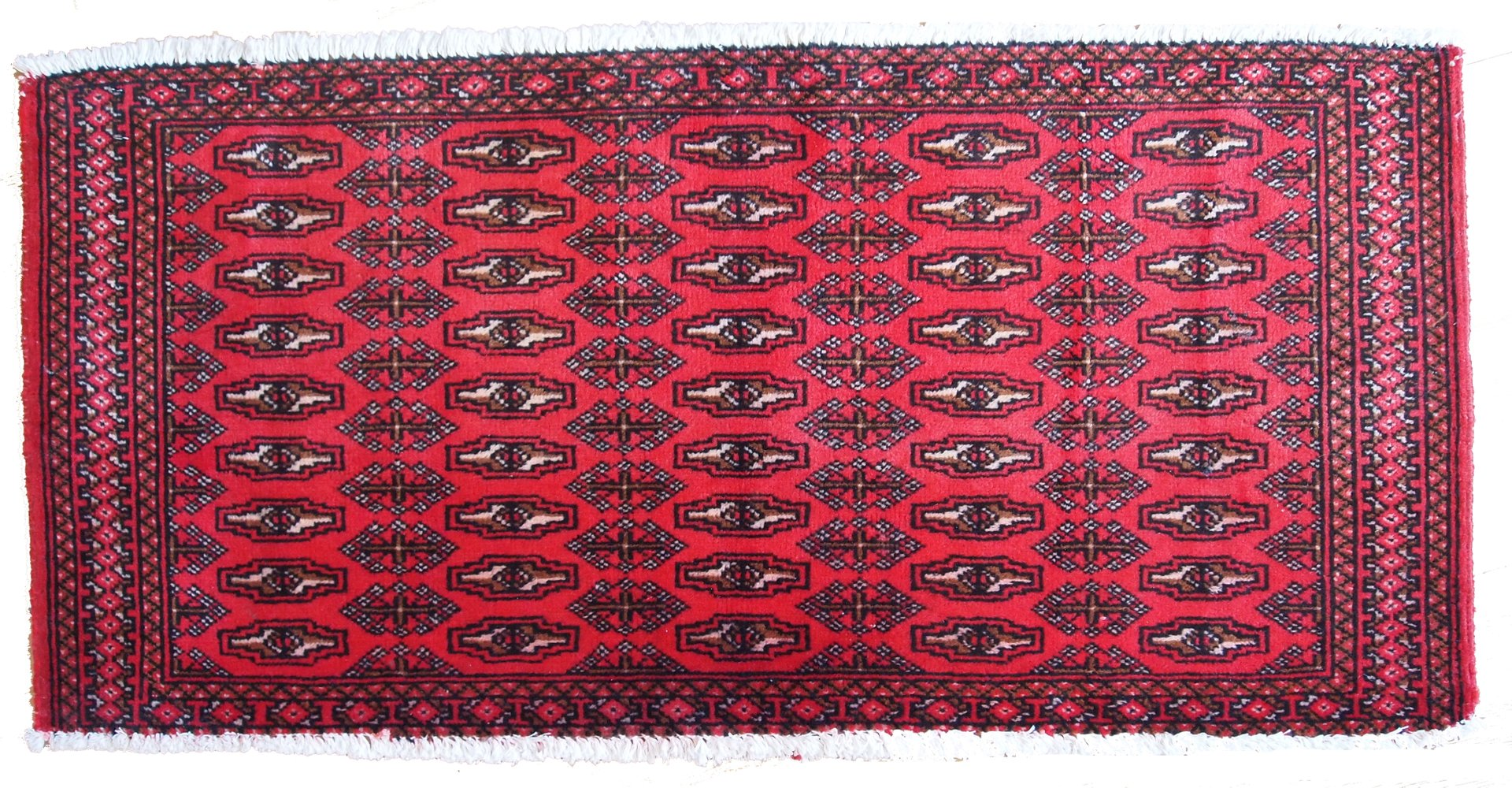 Vintage Turkmen Tekke Handmade Rug 1970s For Sale At Pamono