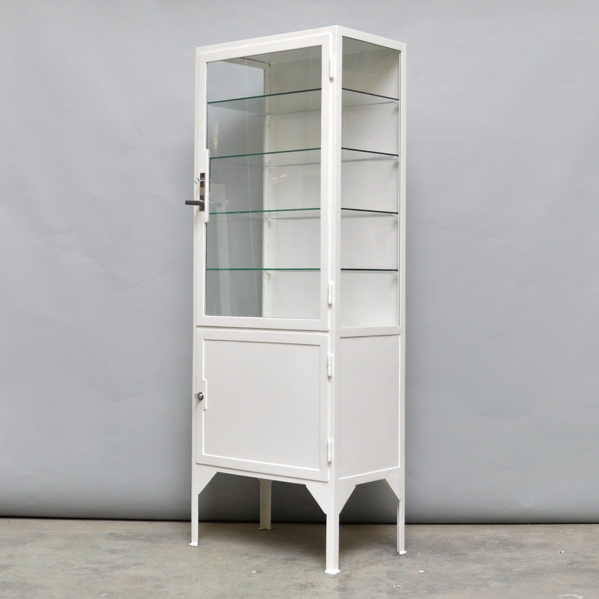 Steel Cabinet For Sale Steel And Glass Medicine Cabinet 1940s For Sale At Pamono