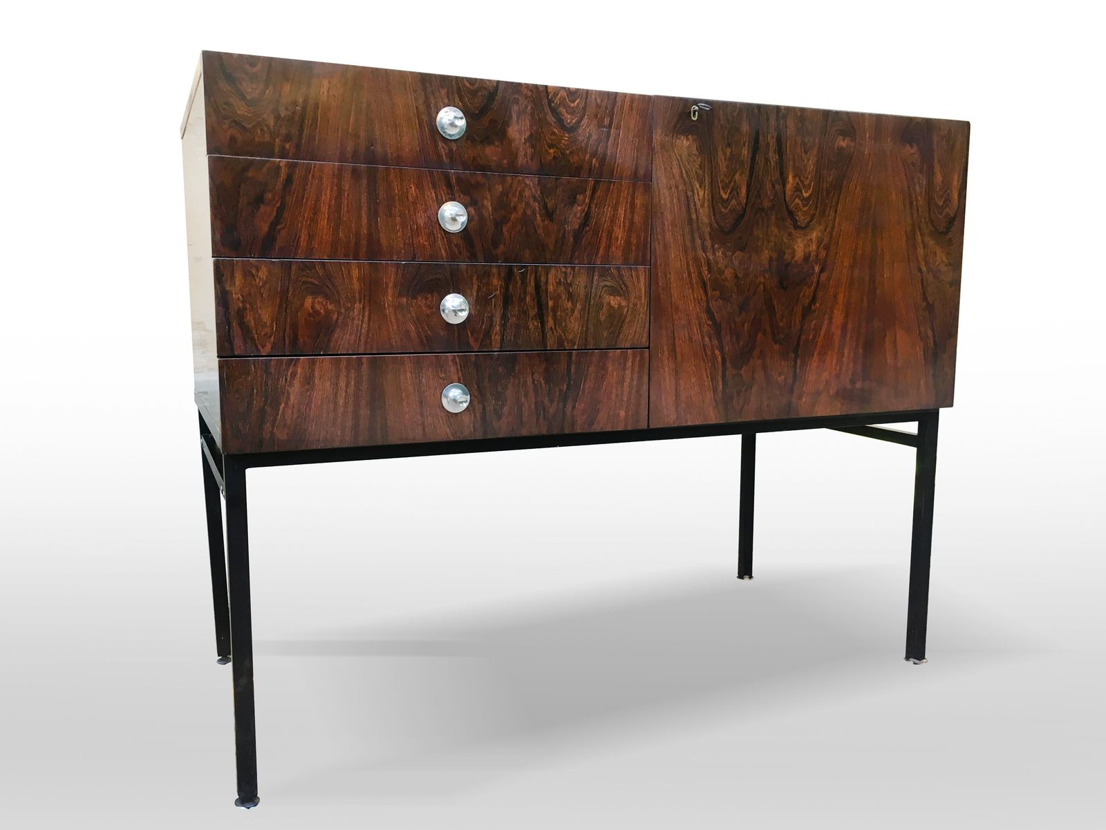 Meuble Tv Vintage Design Vintage Sideboard 800 By Alain Richard For Meubles Tv