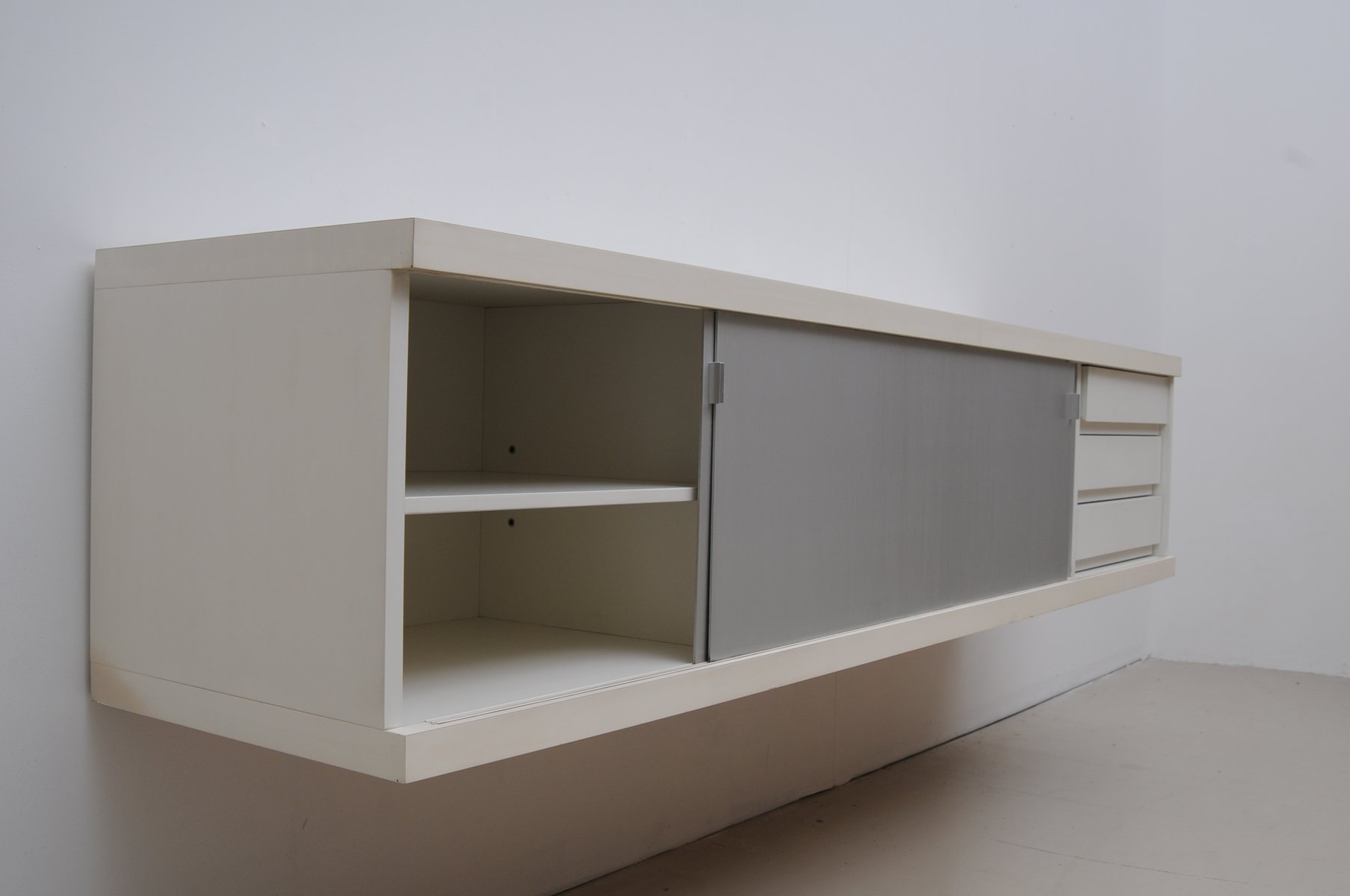 Horst Brüning Mid-century Floating Sideboard By Horst Brüning For Behr