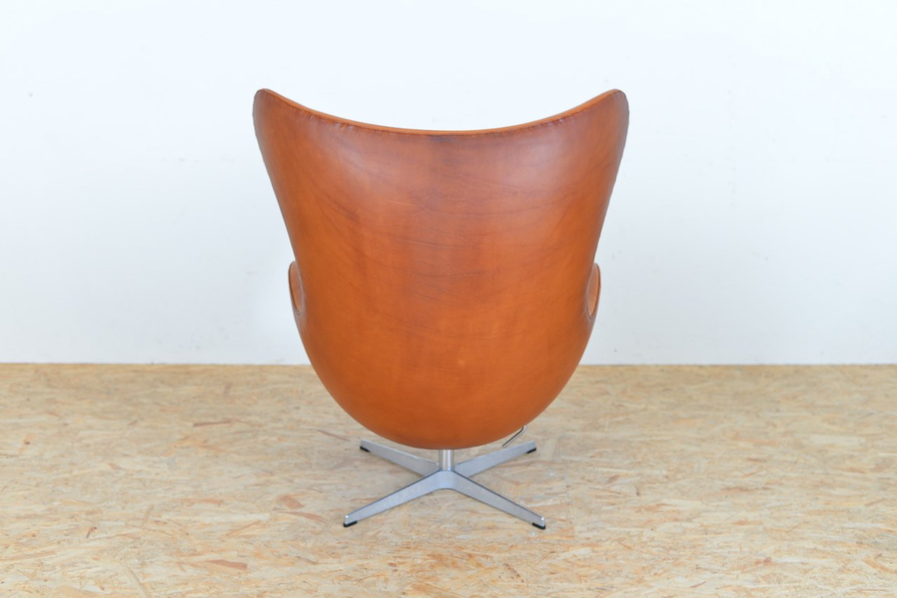 Egg Chair Leder Fritz Hansen Egg Chair Das Ei Fusshocker Leder