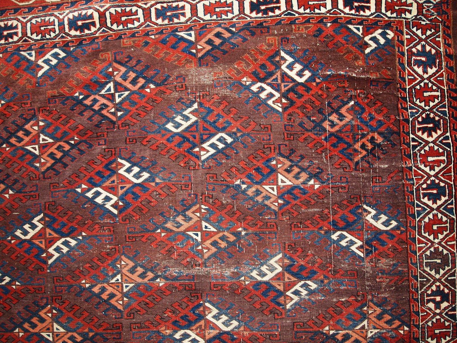Turkmenische Teppiche Preise Handgeknupfter Antiker Turkmenischer