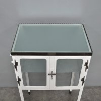 Vintage Medicine Trolley Cabinet, 1920s for sale at Pamono