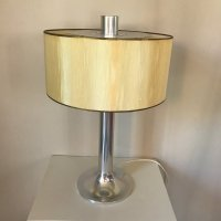 Aluminium Table Lamp, 1970s for sale at Pamono