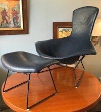 Mid-Century Bird Chair & Ottoman by Harry Bertoia for ...