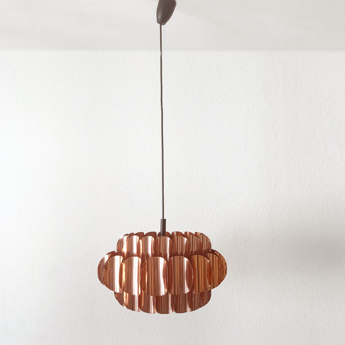 Lampe Suspension Cuivre Suspension Boule Cuivre