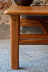 Vintage Danish Square Coffee Table from Cfc Silkeborg for ...