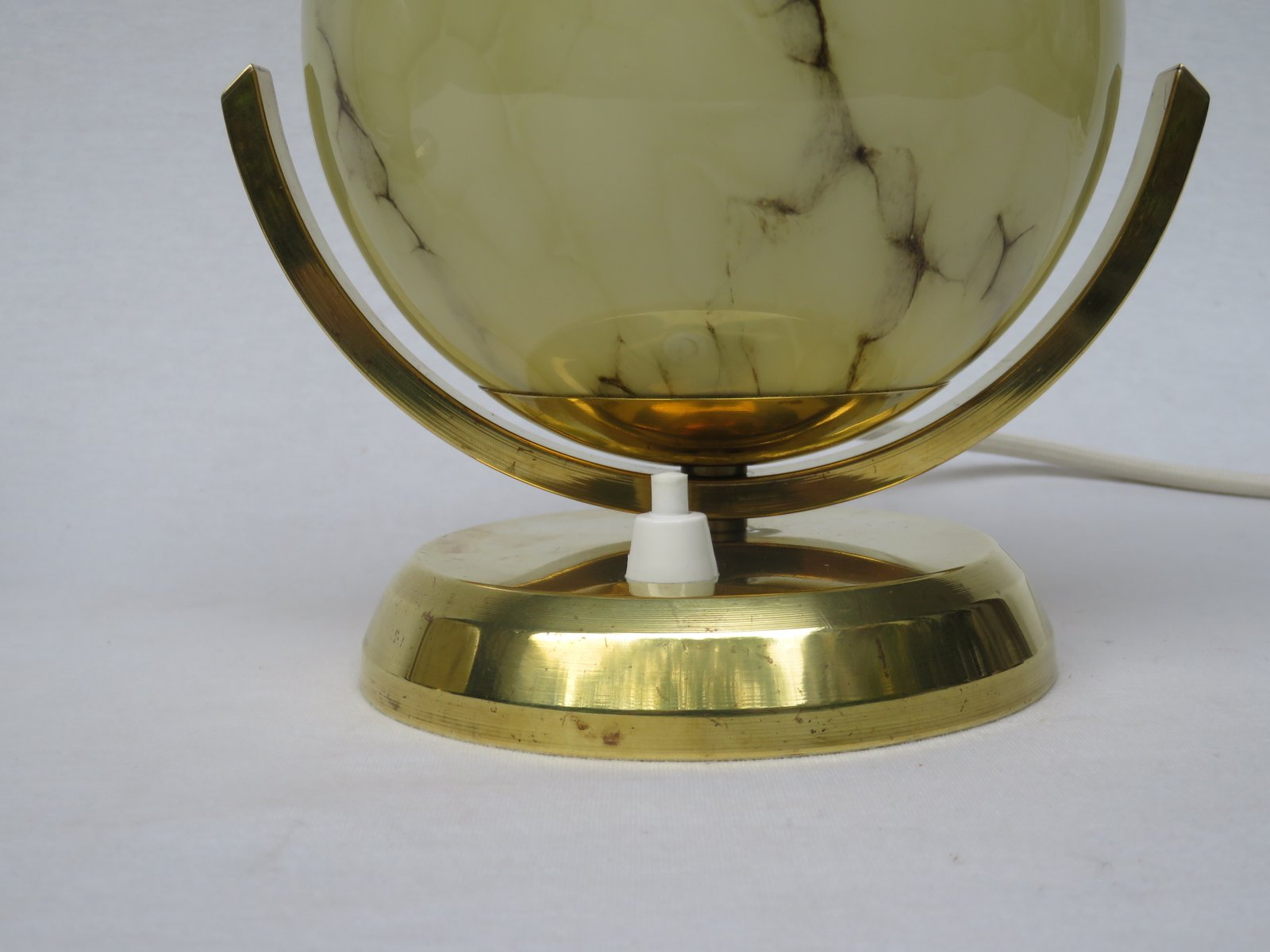Brass Touch Lamps Bedside Vintage Art Deco Brass Bedside Lamps Set Of 2 For Sale At