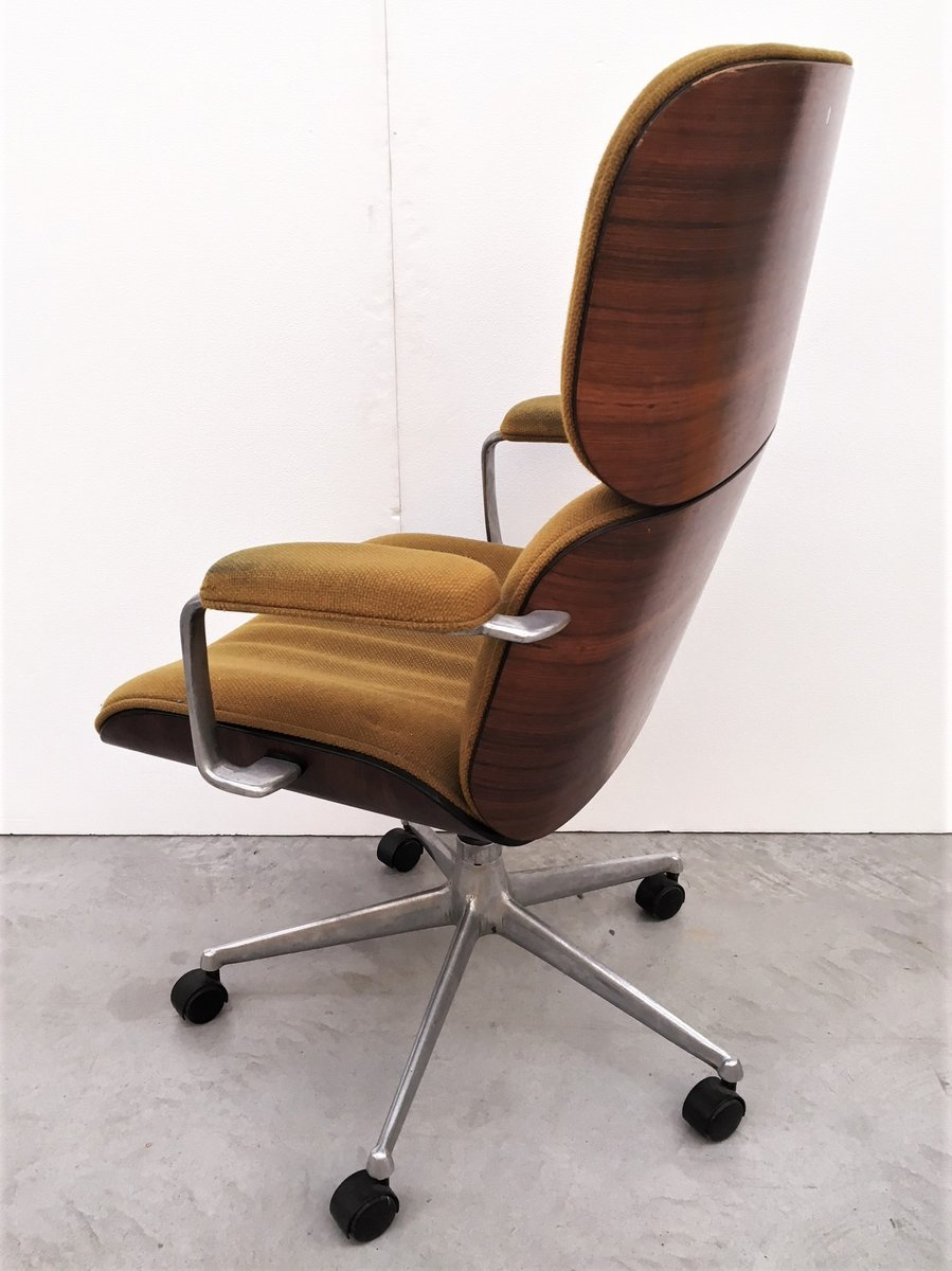 Bürostuhl Retro Vintage Office Armchair By Ico Parisi For Mim