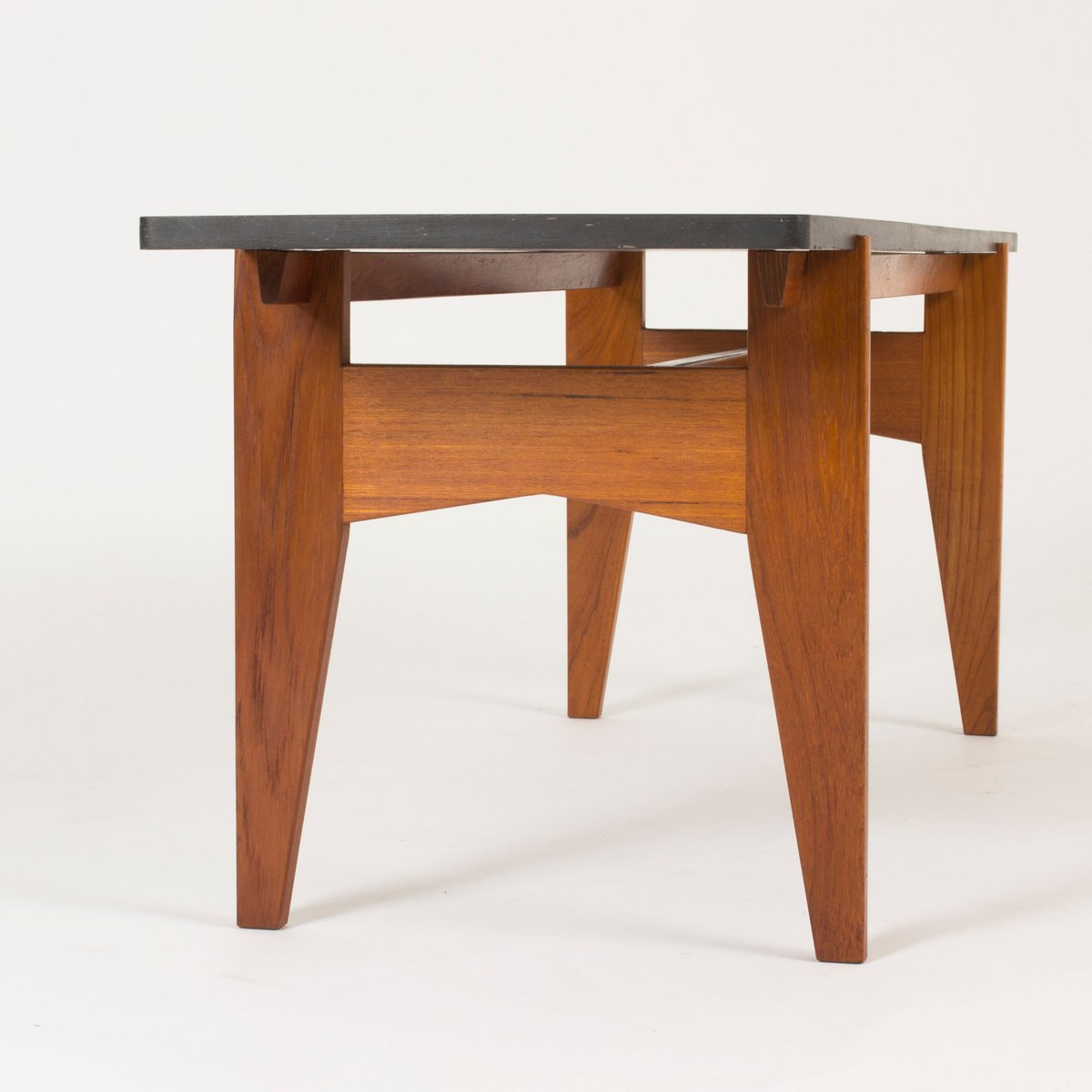 Couchtisch Marvel Teak And Black Marble Coffee Table By Hans Agne Jakobsson