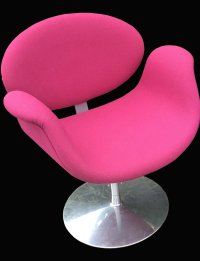 Small Pink Tulip Chair by Pierre Paulin for Artifort ...
