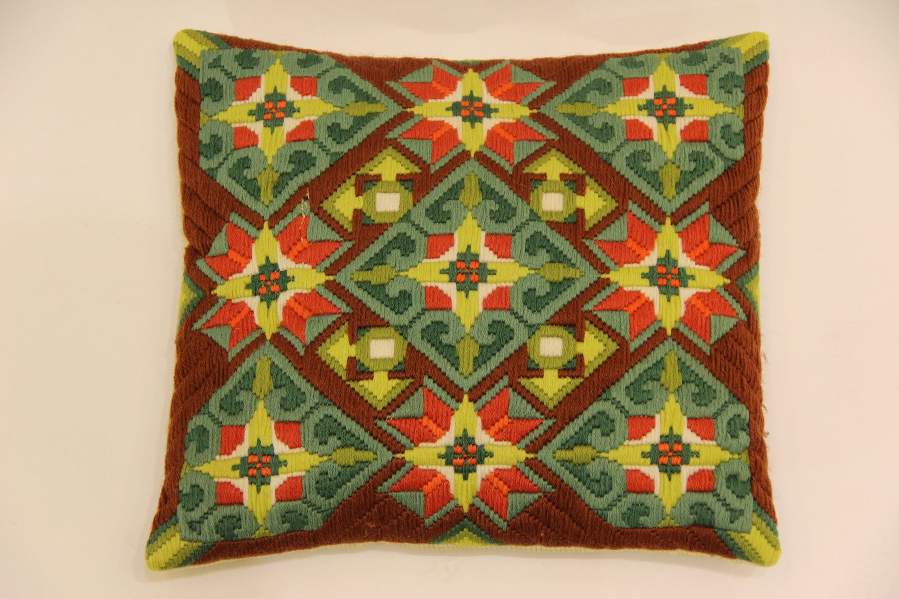 Cushion Sale Vintage Hand Embroidered Sofa Cushion For Sale At Pamono