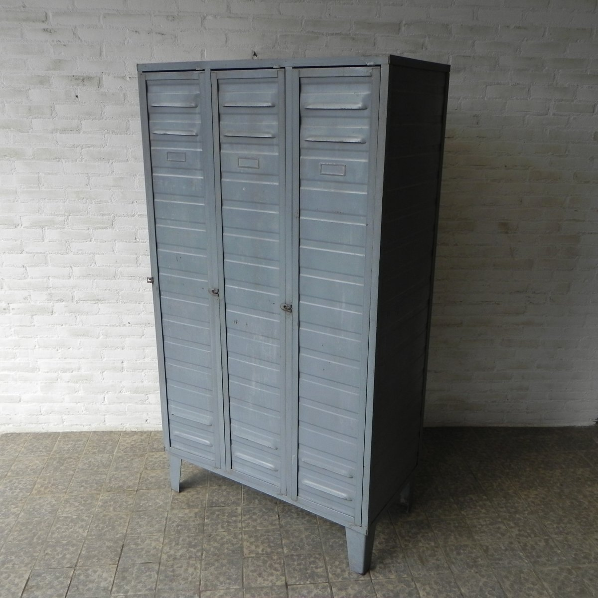 Industrial Wardrobes Industrial Wardrobe 1950s For Sale At Pamono